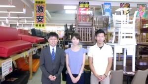 小牧大口店での中京テレビ「キャッチ」取材